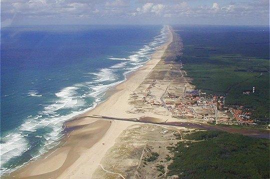 дюны Западной Франции - самые протяженные в Европе