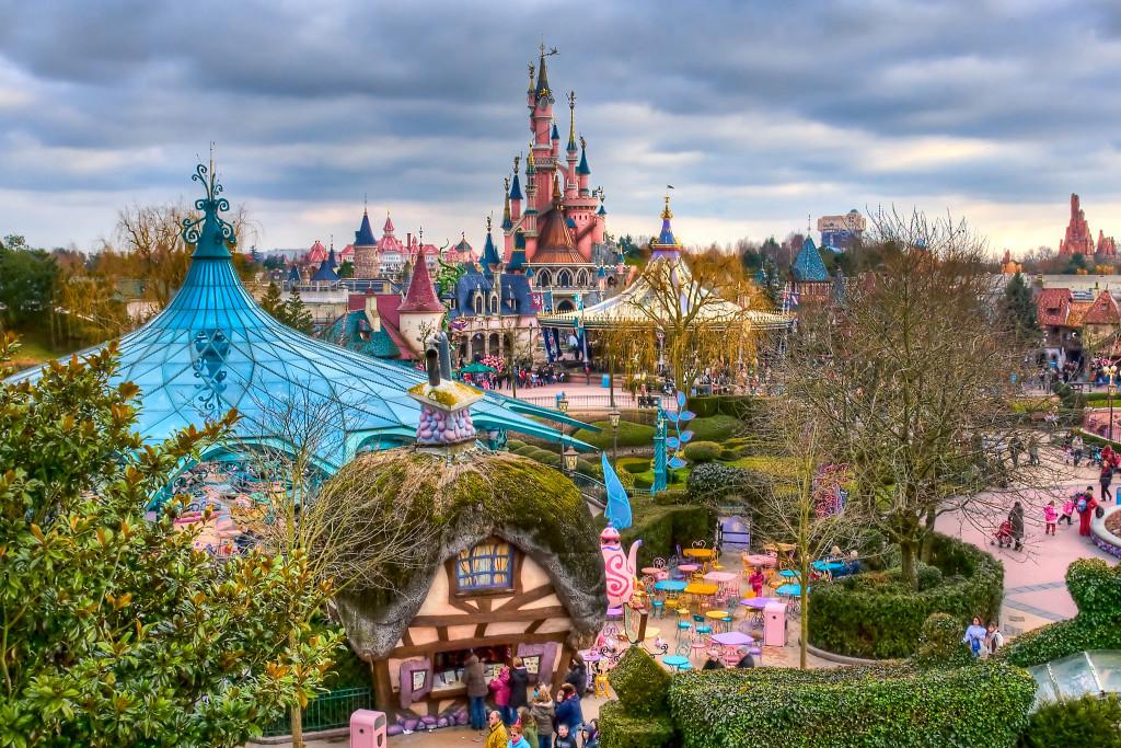 Fantasyland парижский диснейленд