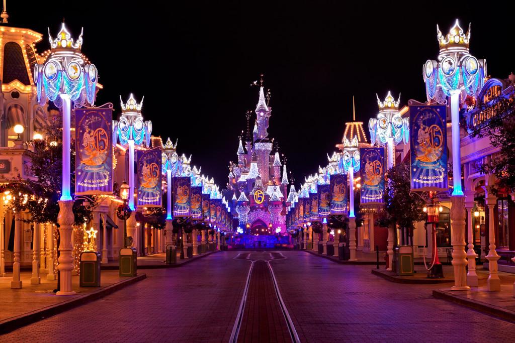Main Street в парижском диснее