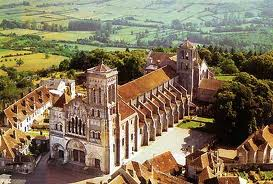 basilique et la colline de Vézelay