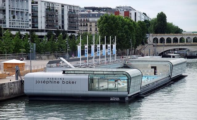Бассейн Жозефин Бейкер в Париже