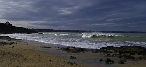 пляж Сен-Сьё в Лансьё