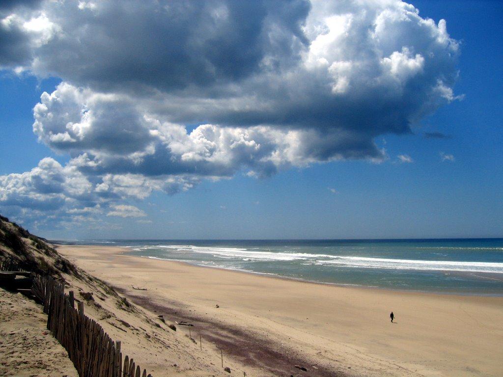пляж Осеан в Уртен
