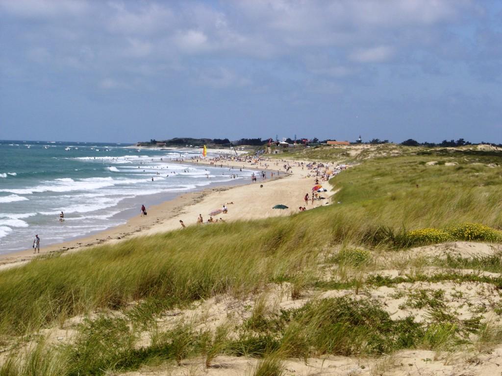 пляж Ют в Сен-Дени д'Олерон