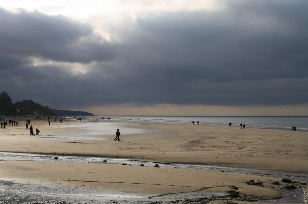 пляж Бютен в Онфлёр