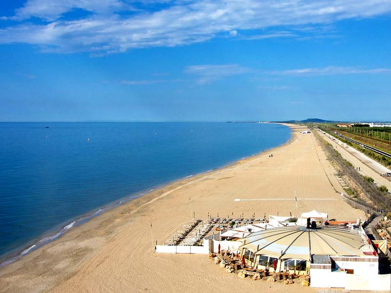 пляж Лазаре в Сэт