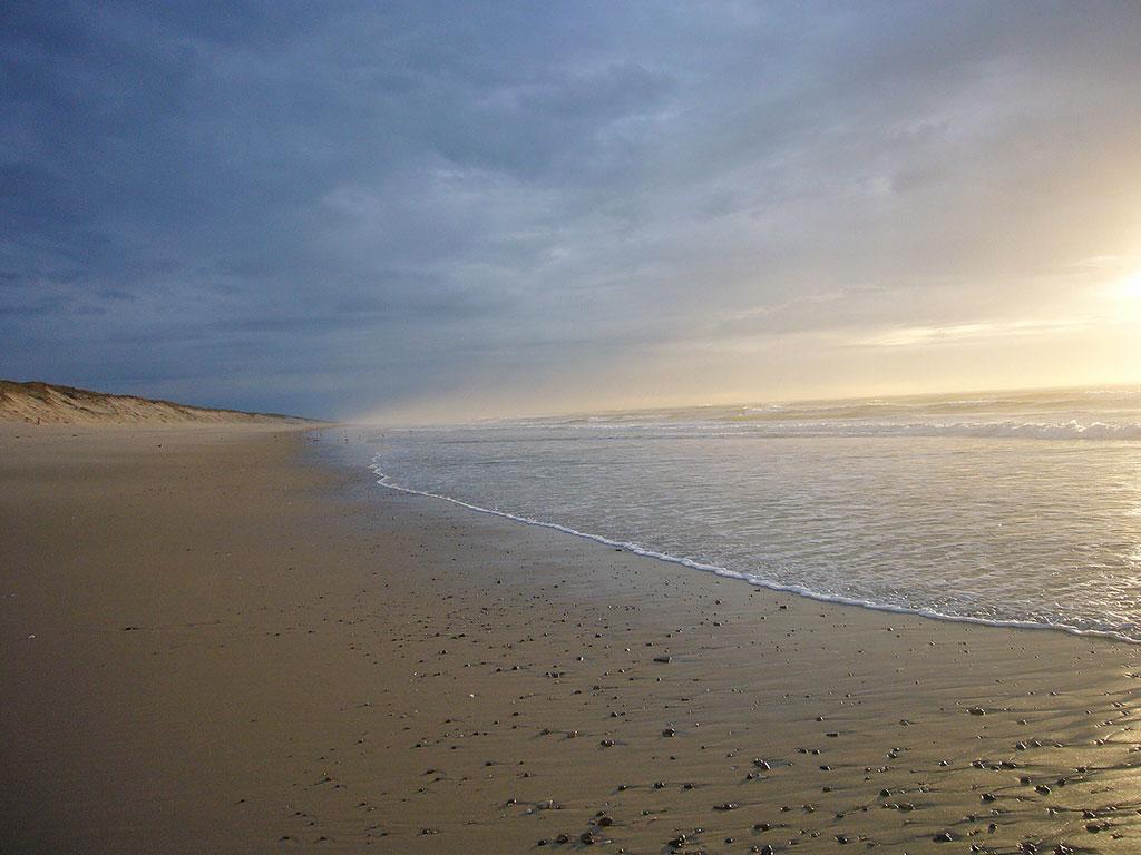 пляж дю Пэн Сек в Ножак-сюр-Мер