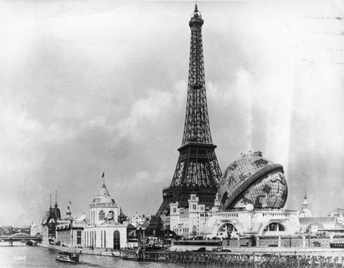 Эйфелева башня в начале XX в.