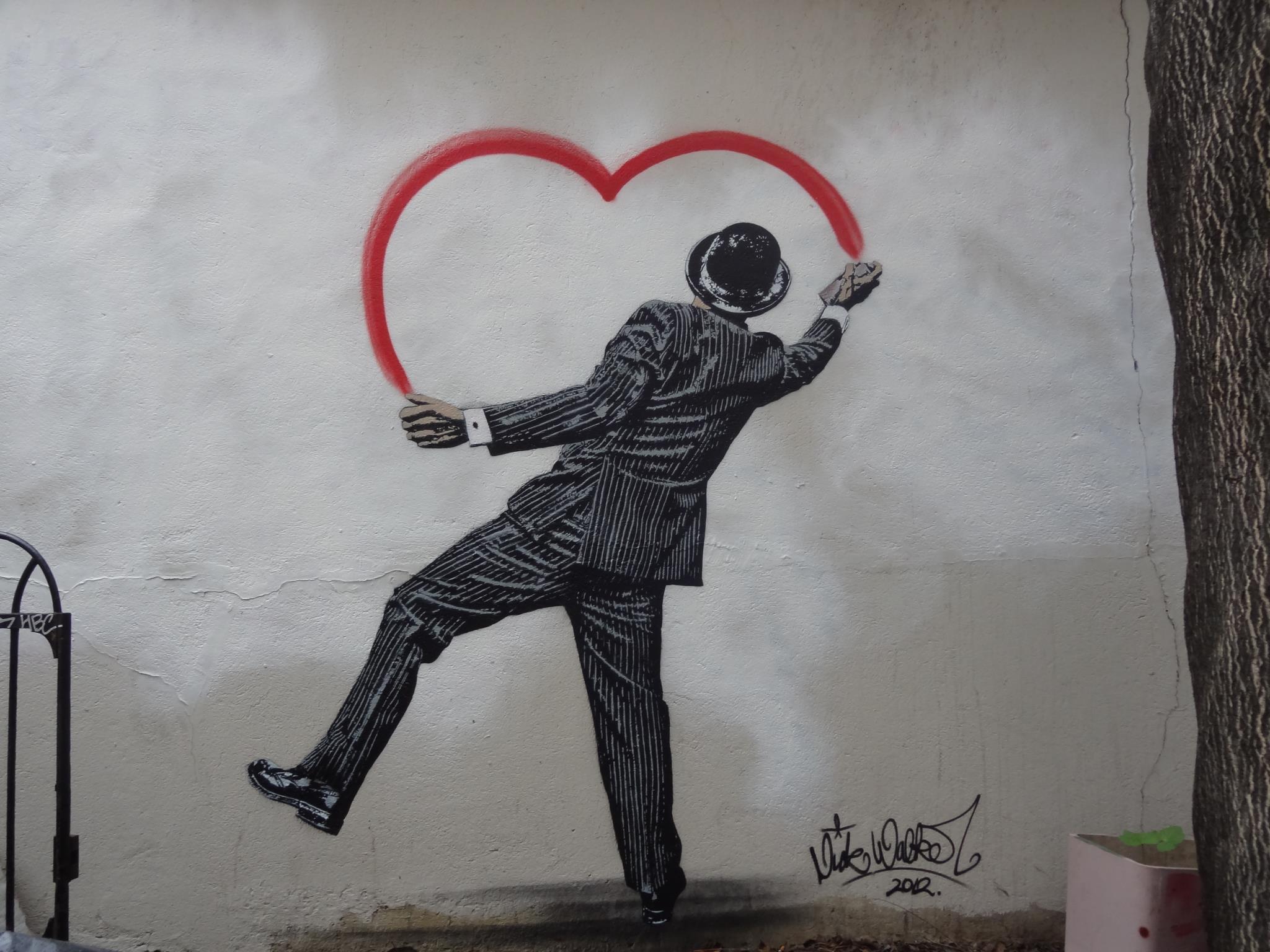 Стрит арт в Париже