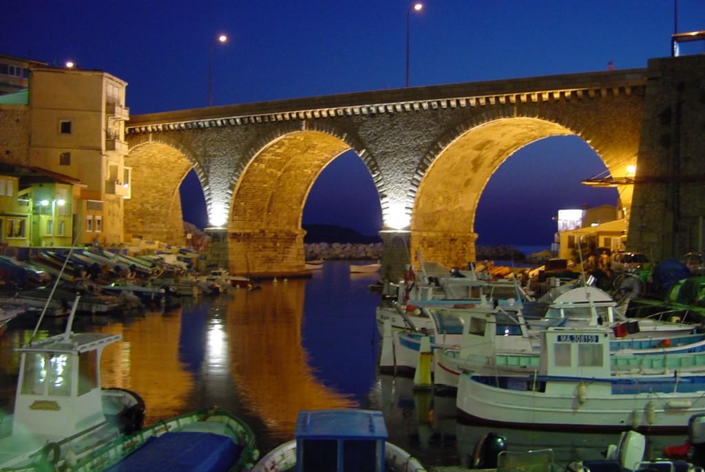 мост le Vallon des Auffes