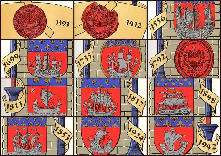 герб парижа история