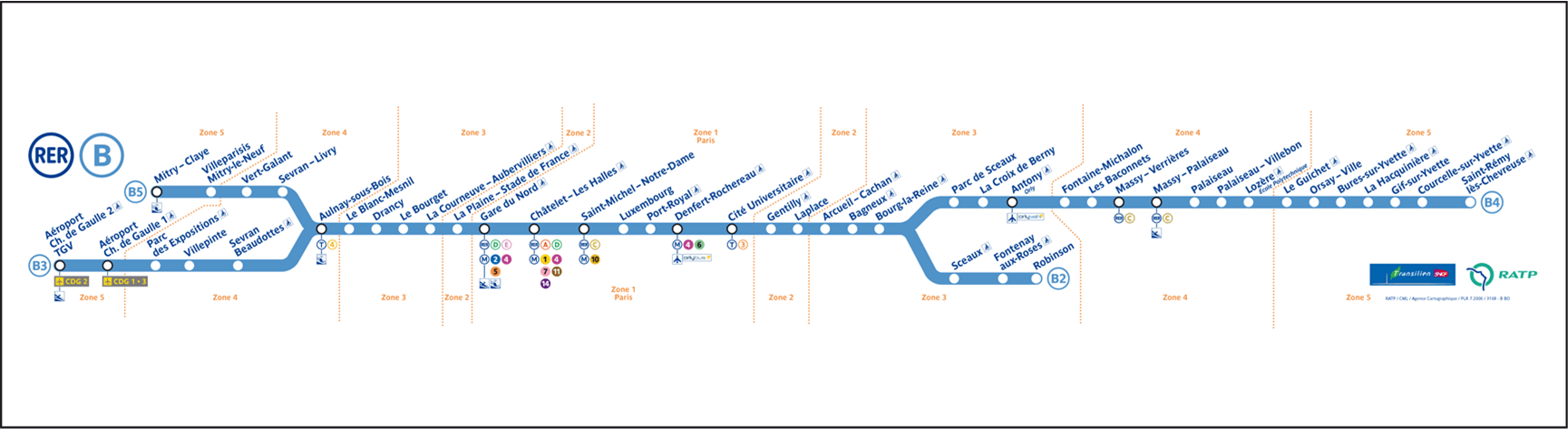 Rer ligne b carte flagyl iv vidal for B b france carte