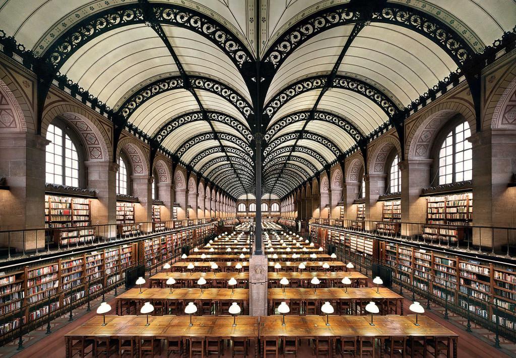 библиотека Св.Женевьевы