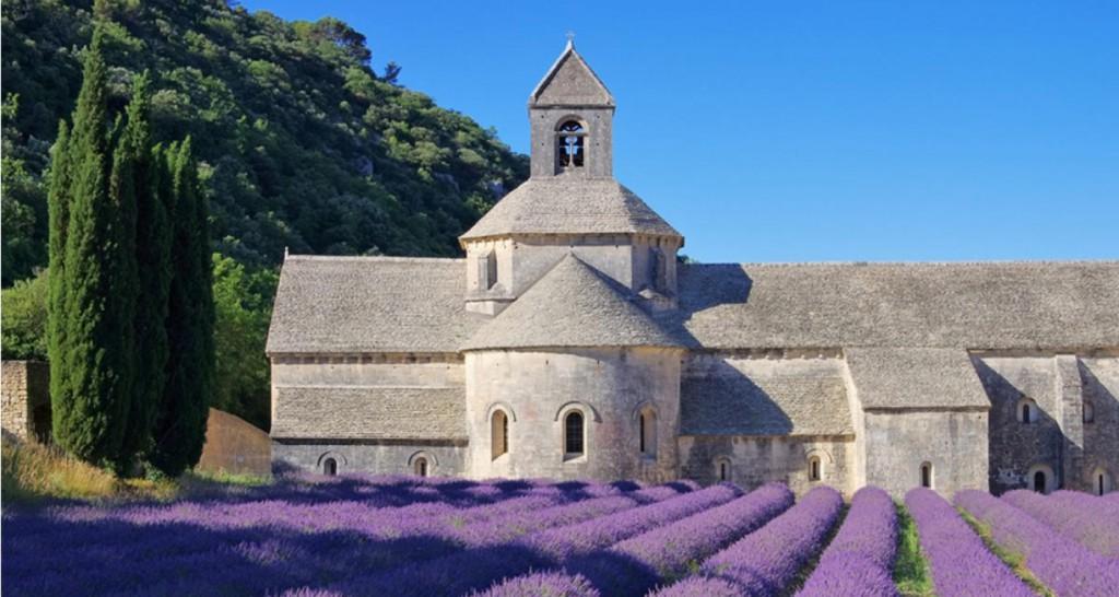 аббатство Нотр Дам де Сенанк (Notre Dame de Sénanque)