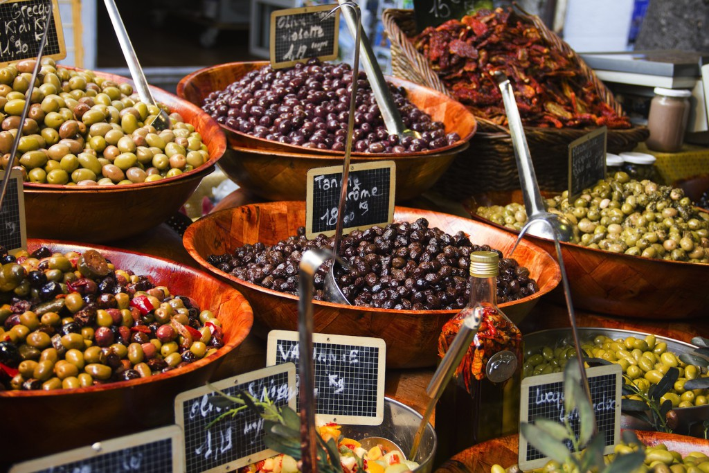 оливки ницца