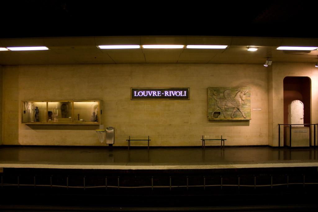 станция лувр - риволи