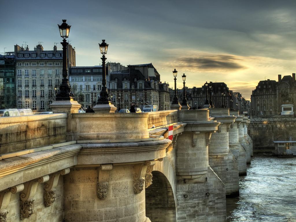 пон нёф новый мост в париже